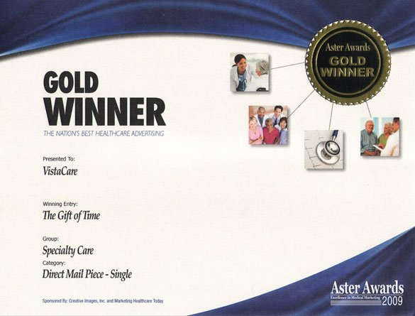 2009 Aster Awards - Gold