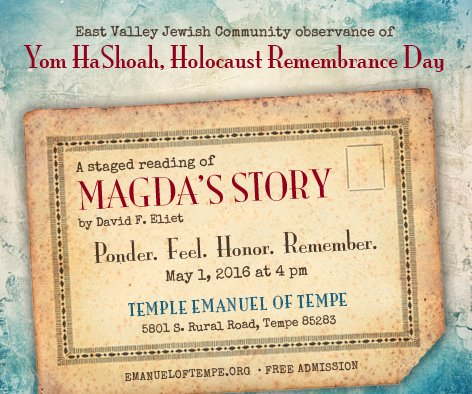 Temple Emanuel Holocaust Rememberence Day