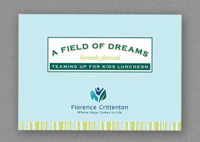 Teaming Up for Kids Luncheon Invitation