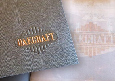 OakCraft Catalog Brochure