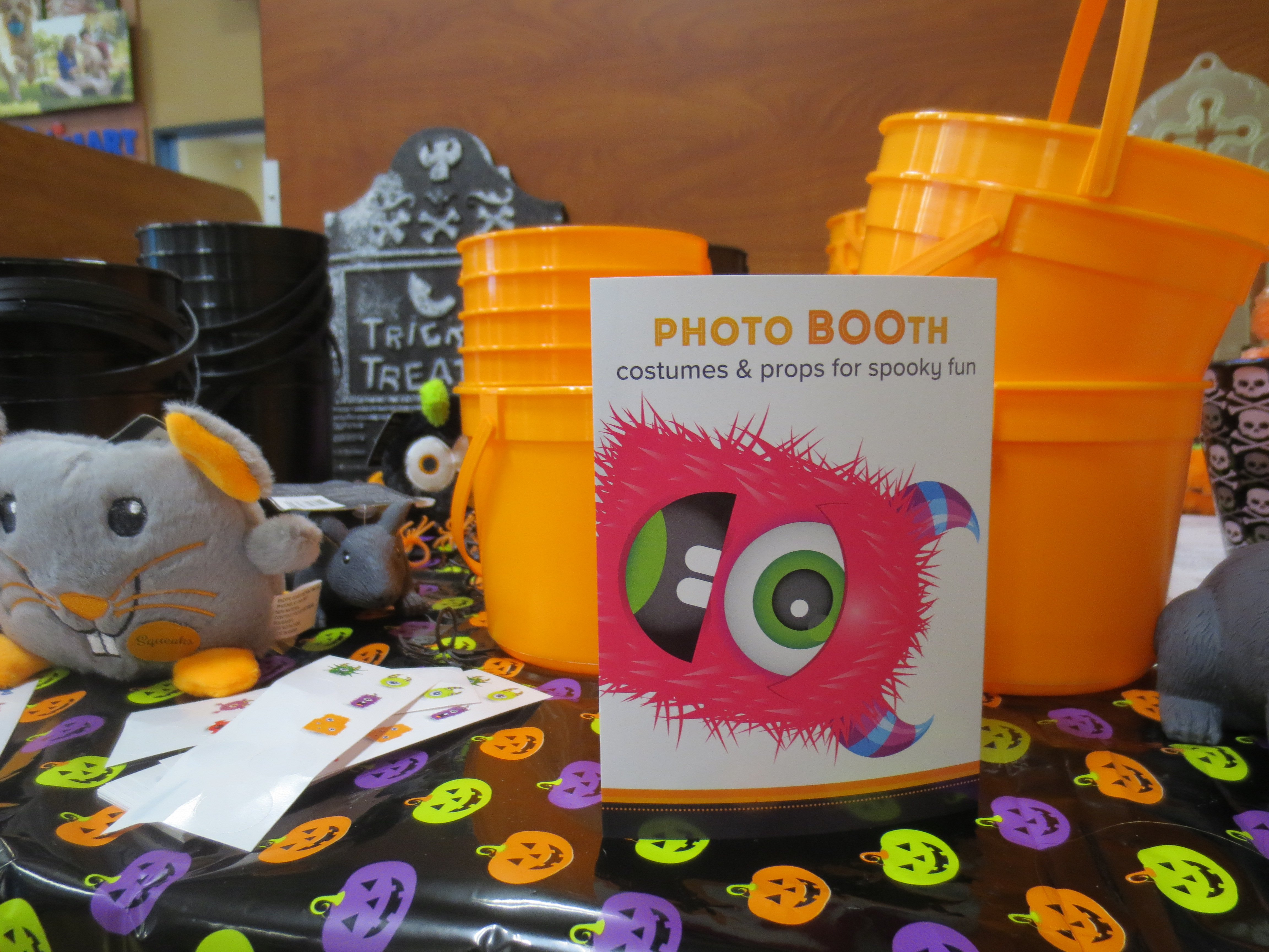 PetSmart Photo Booth table tent