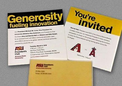 ASU President's Club New Member Invite