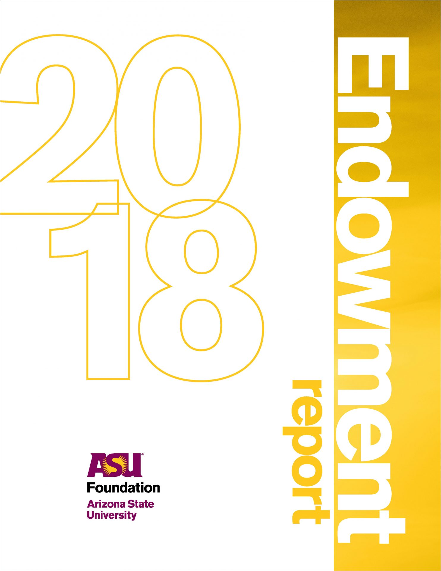 ASU 2018 endowment Report