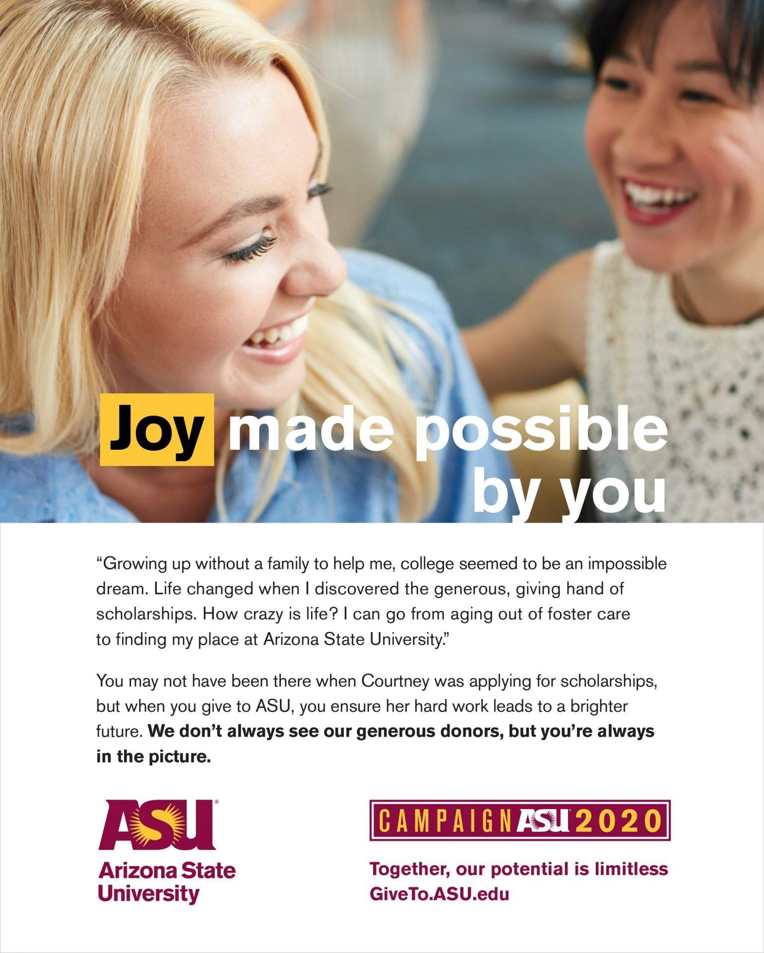 ASU Alumni Magazine ad - Oct 2017