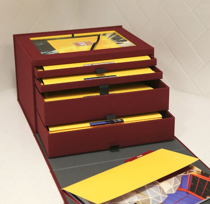 Campaign ASU 2020 Presentation Box drawers
