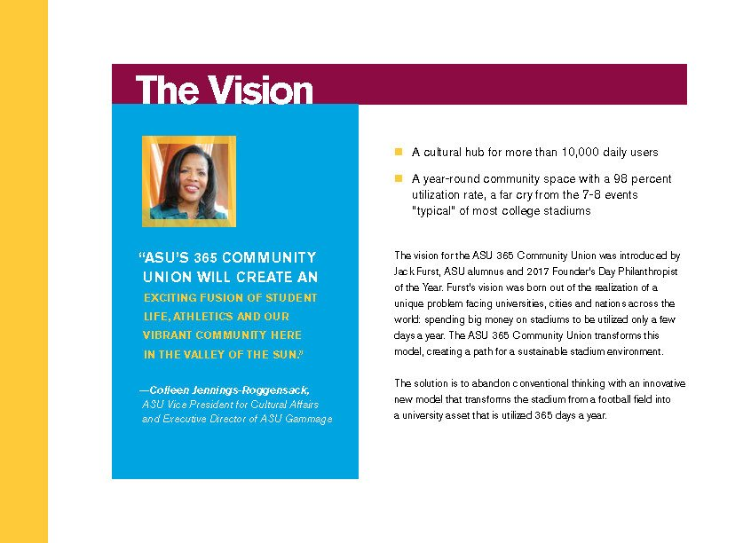 ASU 365 Community Union Building Opportunities page 3