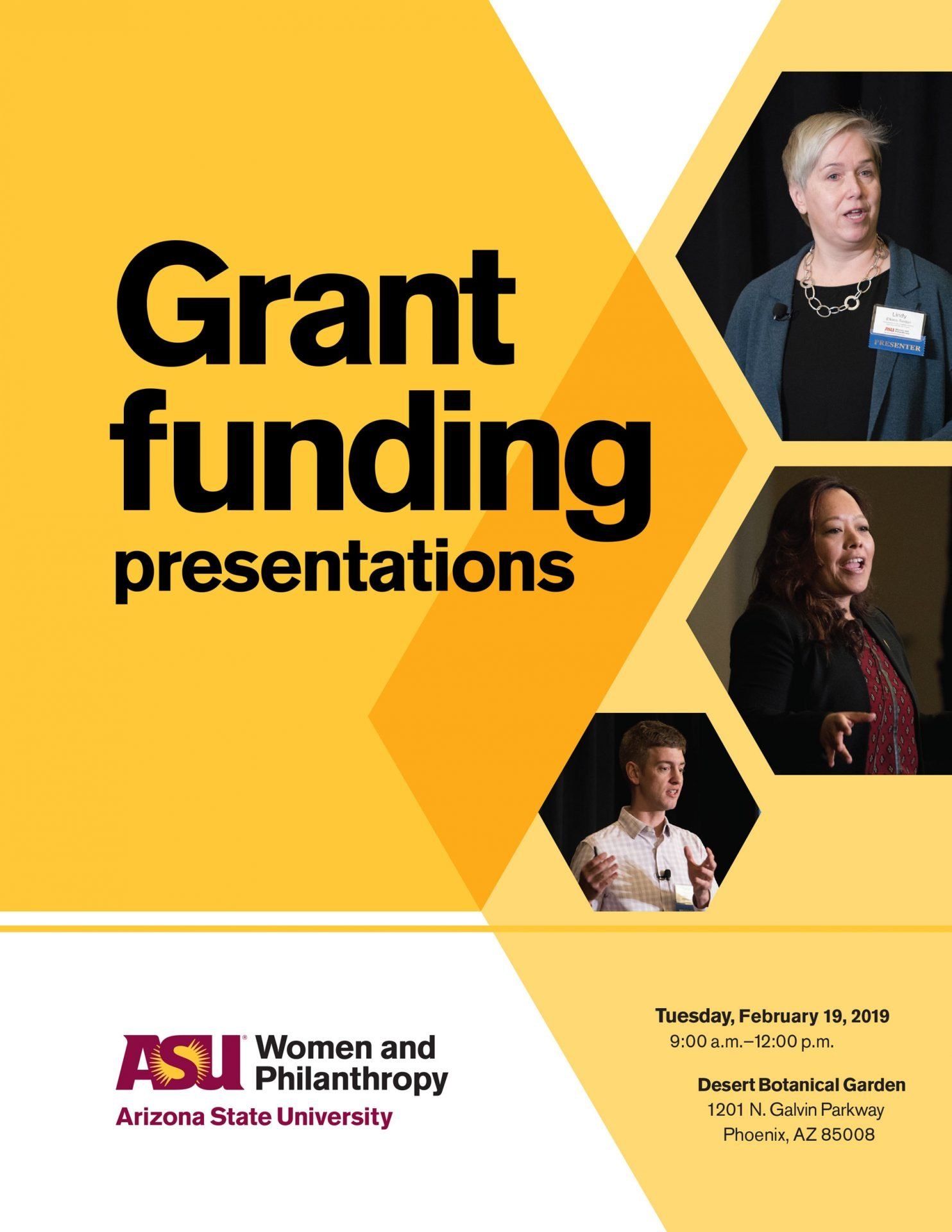 ASU Women and Philanthropy 2019 Booklet Cover