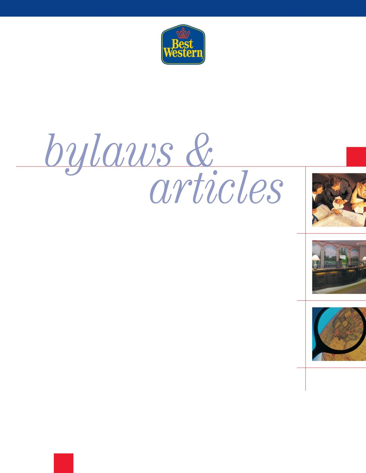 BestWestern-Bylaws-booklet-cover