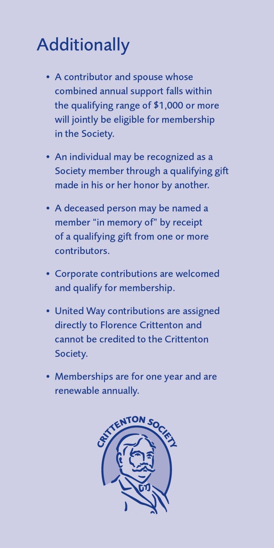 CrittSociety-Membership Insert Back