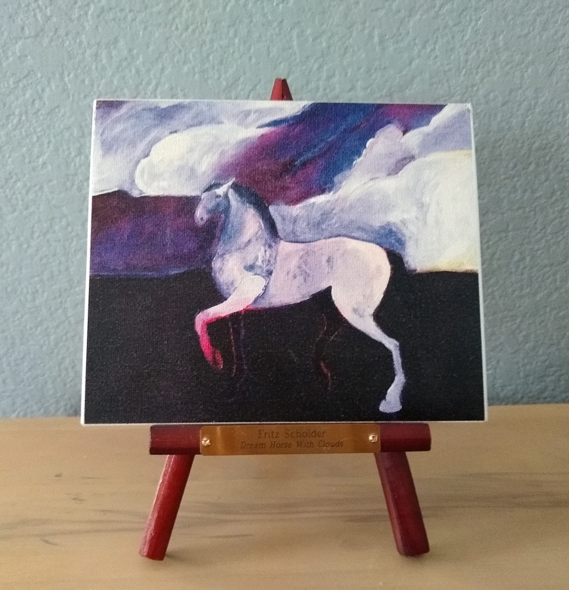 Fritz-Scholder-Dream-Horse-with-Clouds-The-Phoenician-Art-of-Excellence-Invitation
