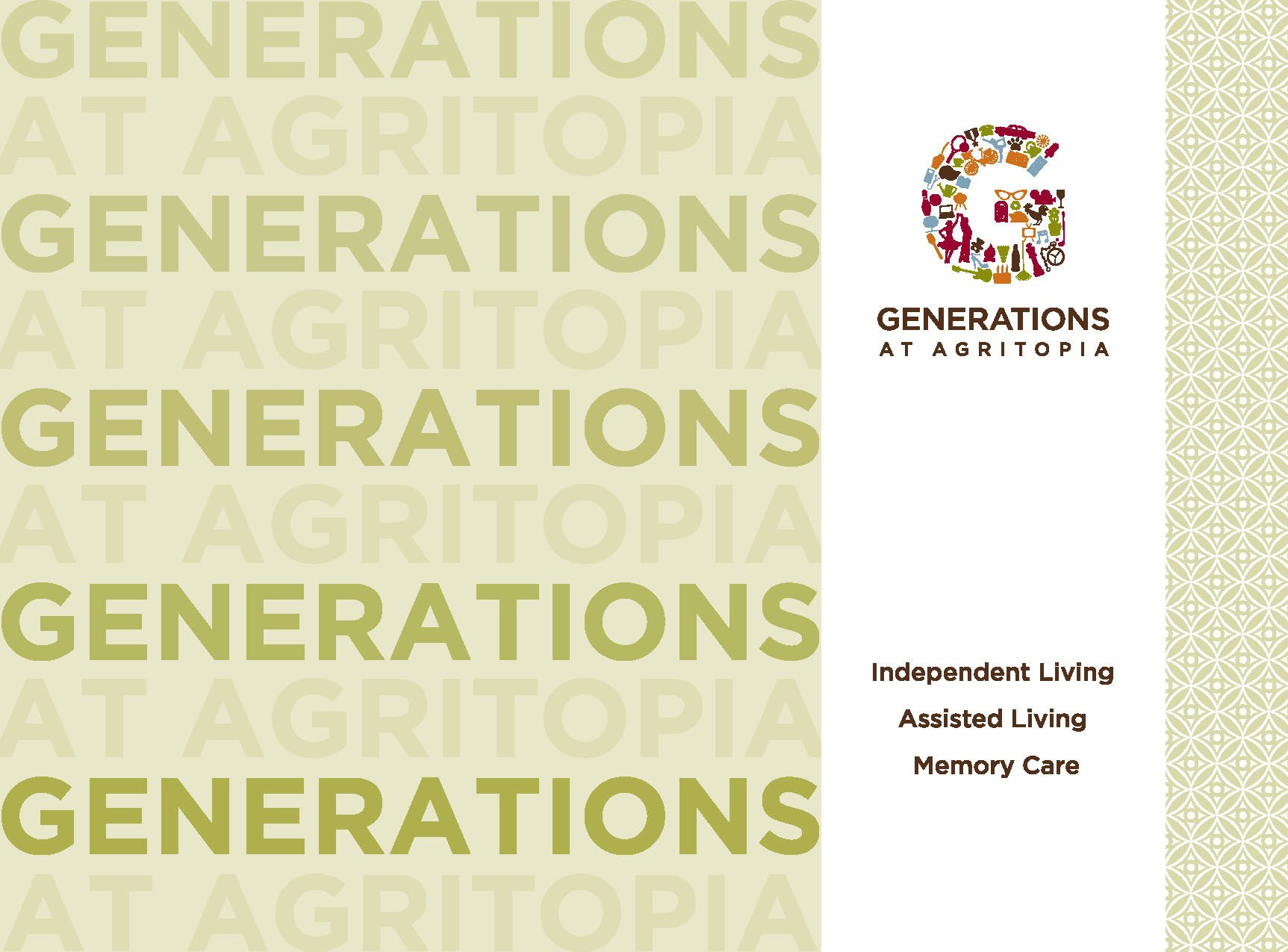 Generations at Agritopia front cover