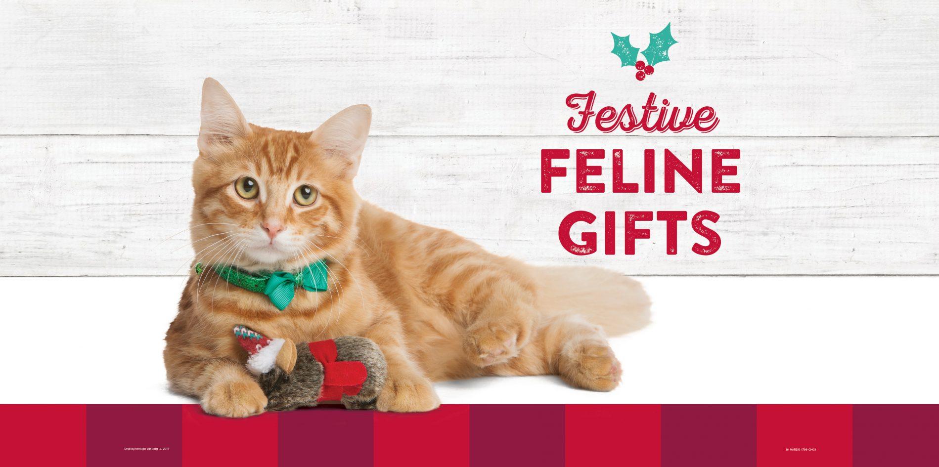 PetSmart Holiday Endcap Signage