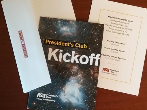 ASU PRESIDENT'S CLUB