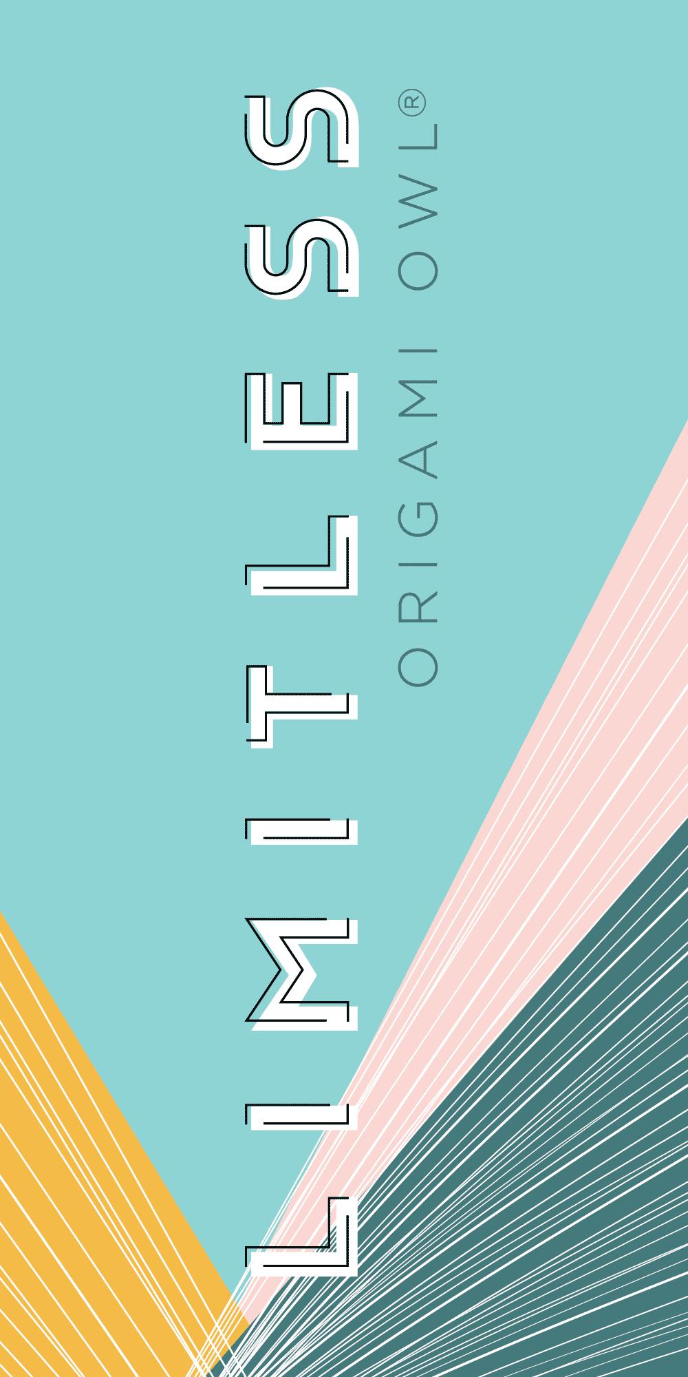 Origami Owl 2019 Convention wayfinder trio sign, right panel