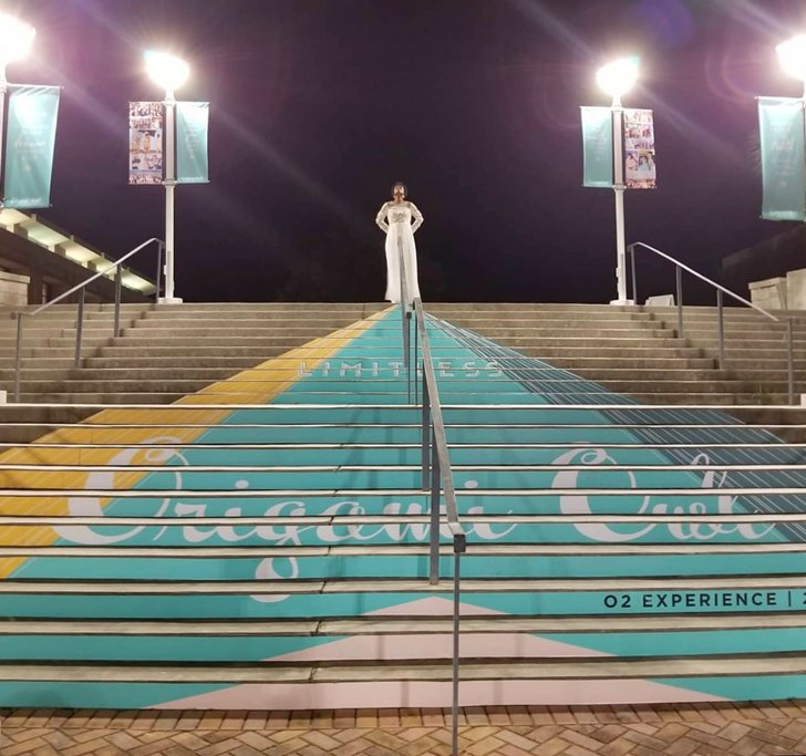 Origami Owl 2019 Convention Savannah entrance stairs, large format