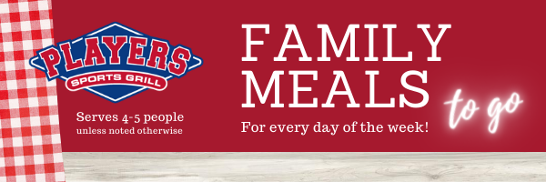 Family Meals to go email header