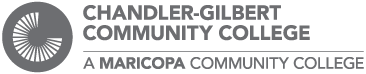 Chandler Gilbert Community College gray logo