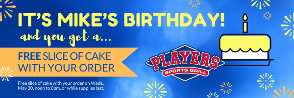 Mike's Birthday Email Header 2020